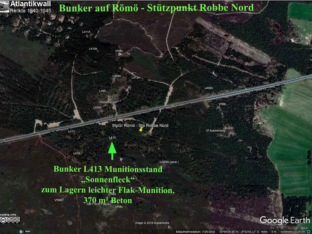 Bunker Atlantikwall Karte.Bunker Von Romo Hitlers Atlantikwall Radarstationen